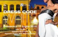 dress code white locandina donna A
